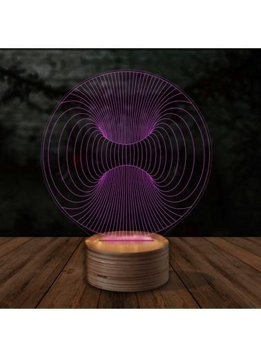 Artikel Boşluk 3D LED Gece Lambası Renkli